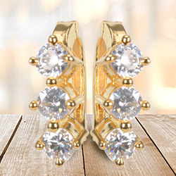 Dazzling AD Earrings