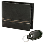 Exquisite Pioneer Men's Wallet and Key Chain Presented by Avon