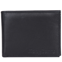 Admirable Gents Wallet in Dark Brown from the House of Longhorn