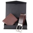 Elegant Set of Wallet and Belt