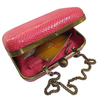 Amazing Spice Art Pink Coloured Ladies Leatherite Box Clutch