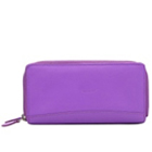 Charismatic Leather Ladies Wallet in Purple Colour from Urban Forest