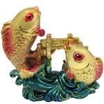 Golden Double Fish Set
