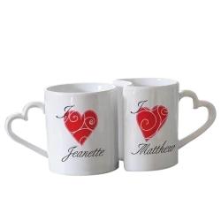 Love You Personalised Mugs