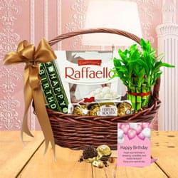 Delectable Birthday Fiesta Gift Basket<br>