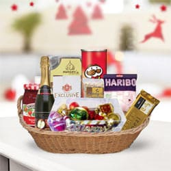 Anniversary Special Gourmet Gift Basket<br>