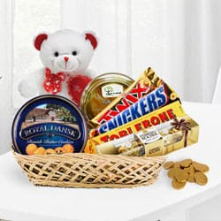 Over the Top Chocolate Gift Basket<br>
