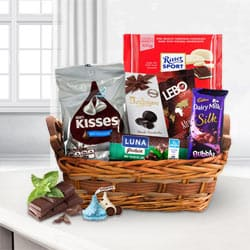 Toothsome Choco Essential Gift Basketbr