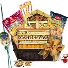 Delightful Basket of Rakhi Treat