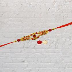 Beautiful Beaded Rakhi Bond