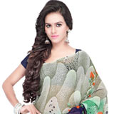 Glitzy Georgette Saree