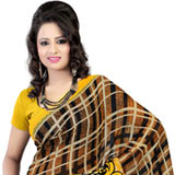 Breathtaking Faux Georgette Printed Saree