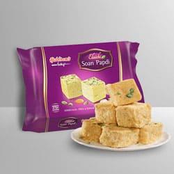 Tasty Soan Papdi from Haldirams