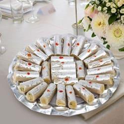 Delicious Haldirams Kaju Pista Roll