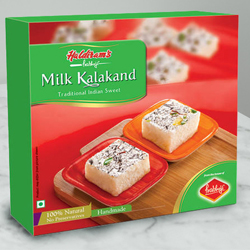 Taste�s Pride Milk Kalakand Sweets Box from Haldirams