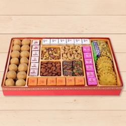 Cultivating Intimacy Milk Cake Sweets Box from Haldirams