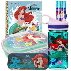 Wonderful Ariel - The Little Mermaid Kids Stationery Combo