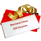 Mainland China Gift Vouchers Worth Rs.2500