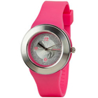 Trendy Pink Coloured Sonata Watch for Urban Women