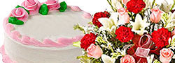 Flowers and Cakes to Kerala